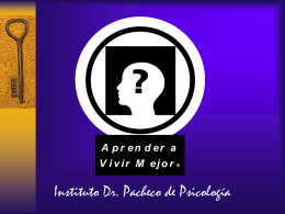 La Enuresis - Instituto Dr. Pacheco de Psicologia (IDPP