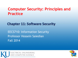 Computer Security: Principles and Practice, 1/e