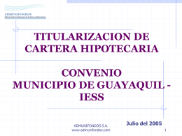 TITULARIZACION IESS
