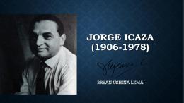 Jorge icaza (1906