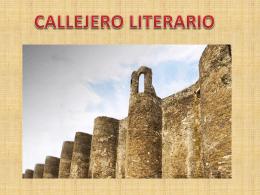 CALLEJERO LITERARIO LUCENSE