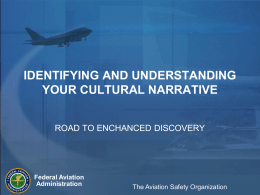FAA AOV New Hire Indoctrination