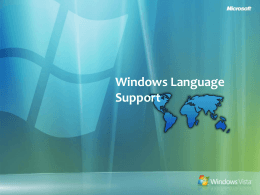 Vista Win32 MUI Application Development