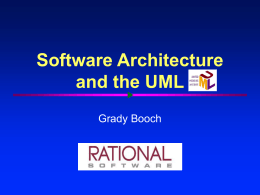 Software Architecture - University of Connecticut School