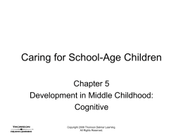 Caring for School