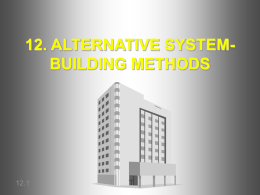 12. ALTERNATIVE SYSTEMS