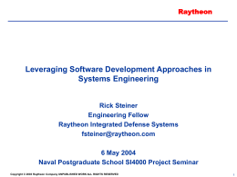 Leveraging Software Development Approaches in Systems