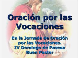 Oracion por las vocaciones