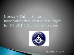 Board of Education Budget Presentation-12-17-13