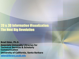 3D Information Visualization: An Introduction and
