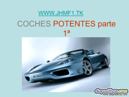 COCHES POTENTES - PowerPoints de Humor, graciosos
