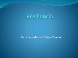 Resiliencia - Salud Tanatologica