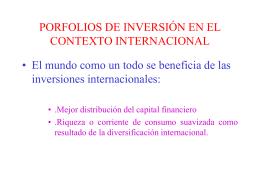 Finanzas Internacionales
