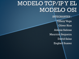 MODELO TCP/IP Y EL MODELO OSI