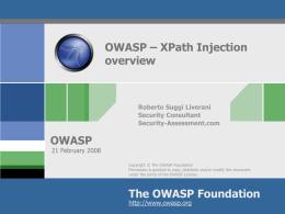OWASP Plan