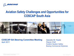 Title of Briefing 32 Point - COSCAP-SA
