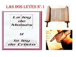 LAS DOS LEYES
