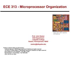 ECE 313 - Computer Organization