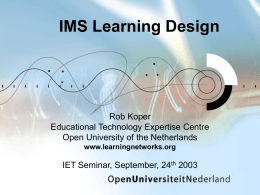 Learning Technologies Development Programme
