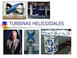 TURBINAS HELICOIDALES