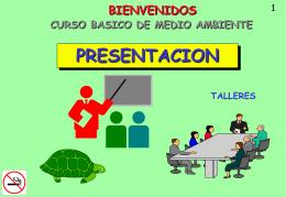 RESPALDO CURSO BASICO DE MEDIO AMBIENTE