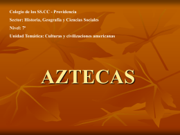 AZTECAS - SSCC Providencia