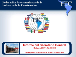 Inforge Srio Gral FIIC Abr 2008