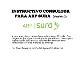 FORMATOS SURATEP - SEQ Consultores