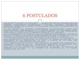 6 POSTULADOS - Clave de Vida
