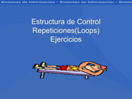 Repeticiones(Loops)