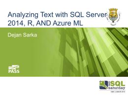 [Powerpoints] - AnalyzingText_SQLServer2014_Rx