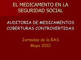 Diapositiva 1 - Red Argentina de Salud