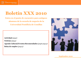 Diapositiva 1 - Comillas Postgrado