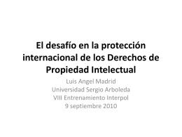 Perspectivas Multilaterales y Regionales en Observancia de …