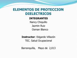 Diapositiva 1 - Salud Ocupacional SENA 2013