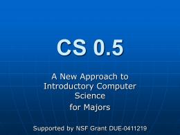 CS 0.5