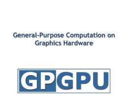 Mapping Computational Concepts to GPUs