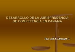 DESARROLLO DE LA JURISPRUDENCIA DE COMPETENCIA …