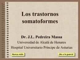 Los trastornos somatoformes