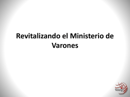 Revitalizing Men's Ministries