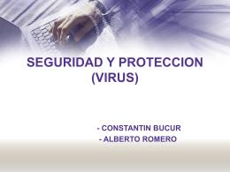 SEGURIDAD Y PROTECCION (VIRUS)