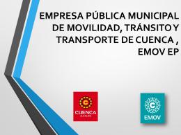 EMPRESA PUBLICA MUNICIPAL DE MOVILIDAD, …