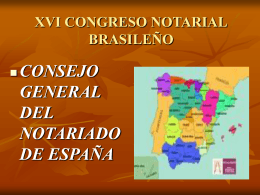 Diapositiva 1 - Academia Notarial Americana
