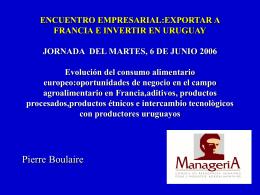SEMANA FRANCESA EN CHILE TEMA AGROALIMENTARIO …