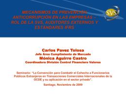ALM EN CHILE: NORMAS DE CALCE Y TSA