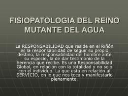 FISIOPATOLOGIA DEL REINO MUTANTE DEL METAL