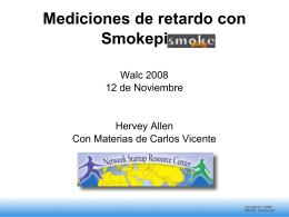 Mediciones de retardo con Smokeping Walc 2008 12 de