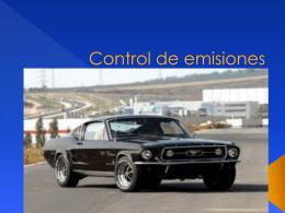 Control de emiciones