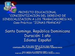 """PROYECTO EDUCACIONAL """"CONCIENTIZACION DEL …"""