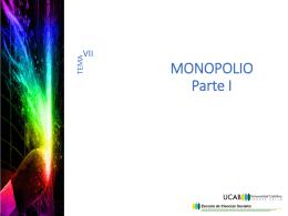 EL MONOPOLIO